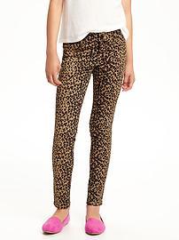 Cheetah-Print Jeggings for Girls