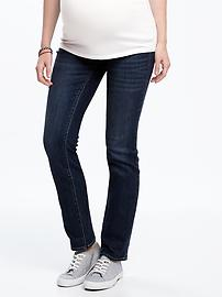 Maternity Side-Panel Original Straight Jeans
