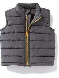 Quilted Frost-Free Vest for Baby