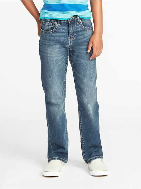 Built-In-Flex Straight Jeans for Boys