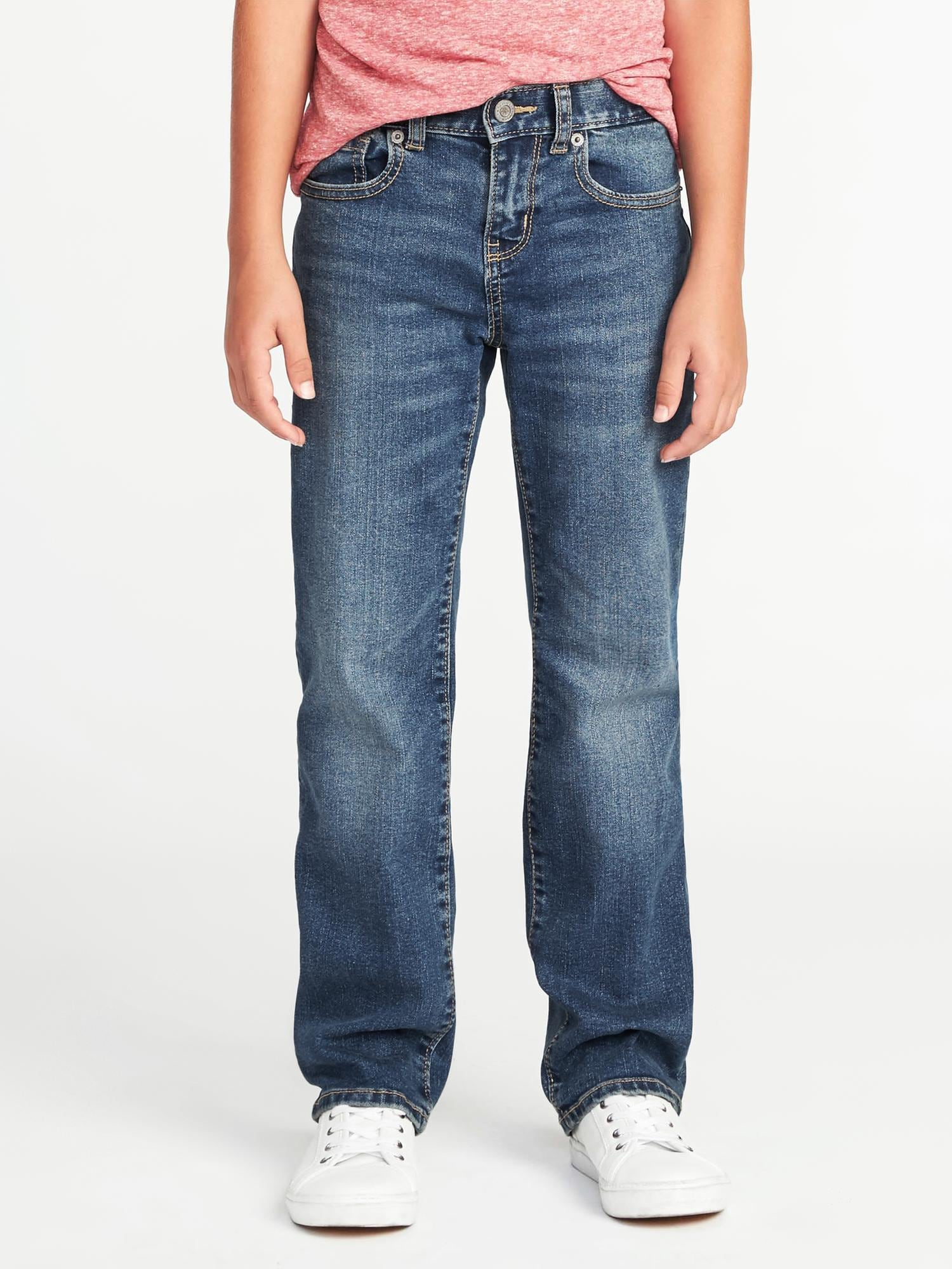 Built In Flex Straight Jeans For Boys by Old Navy