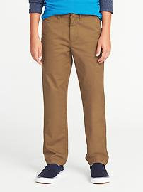 Slim Ultimate Built-In Flex Khakis for Boys