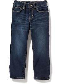Straight Built-In Flex Jeans for Toddler Boys