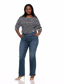 24e120561d8 High-Rise Built-In-Sculpt Plus-Size Rockstar Boot-Cut Jeans