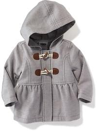 Hooded Toggle Coat for Baby