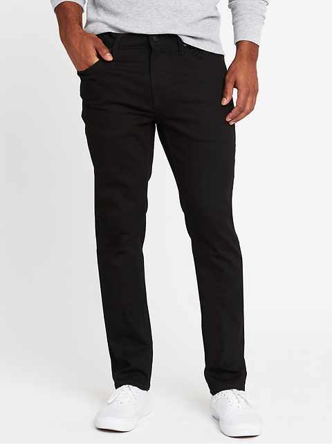 Slim Built-In Flex Max Never-Fade Jeans For Men