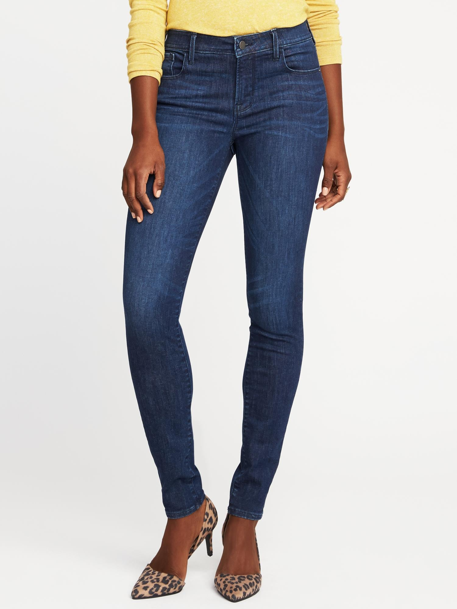 42a8886be3f Mid-Rise Built-In Sculpt Rockstar Jeans for Women