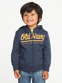 Logo Fleece Hoodie for Toddler Boys