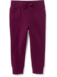 Jersey Pull-On Pants for Toddler Girls