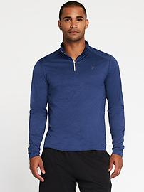 Go-Dry 1/4-Zip Stretch Pullover for Men