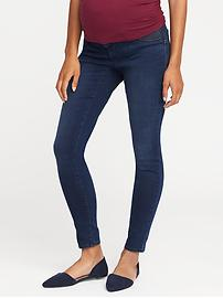 Maternity Side-Panel Rockstar Skinny Jeans
