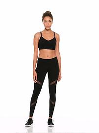 7db8054731 Mid-Rise Mesh-Panel Elevate Compression Leggings for Women | Old Navy