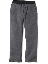 Drawstring Fleece Sweatpants for Boys