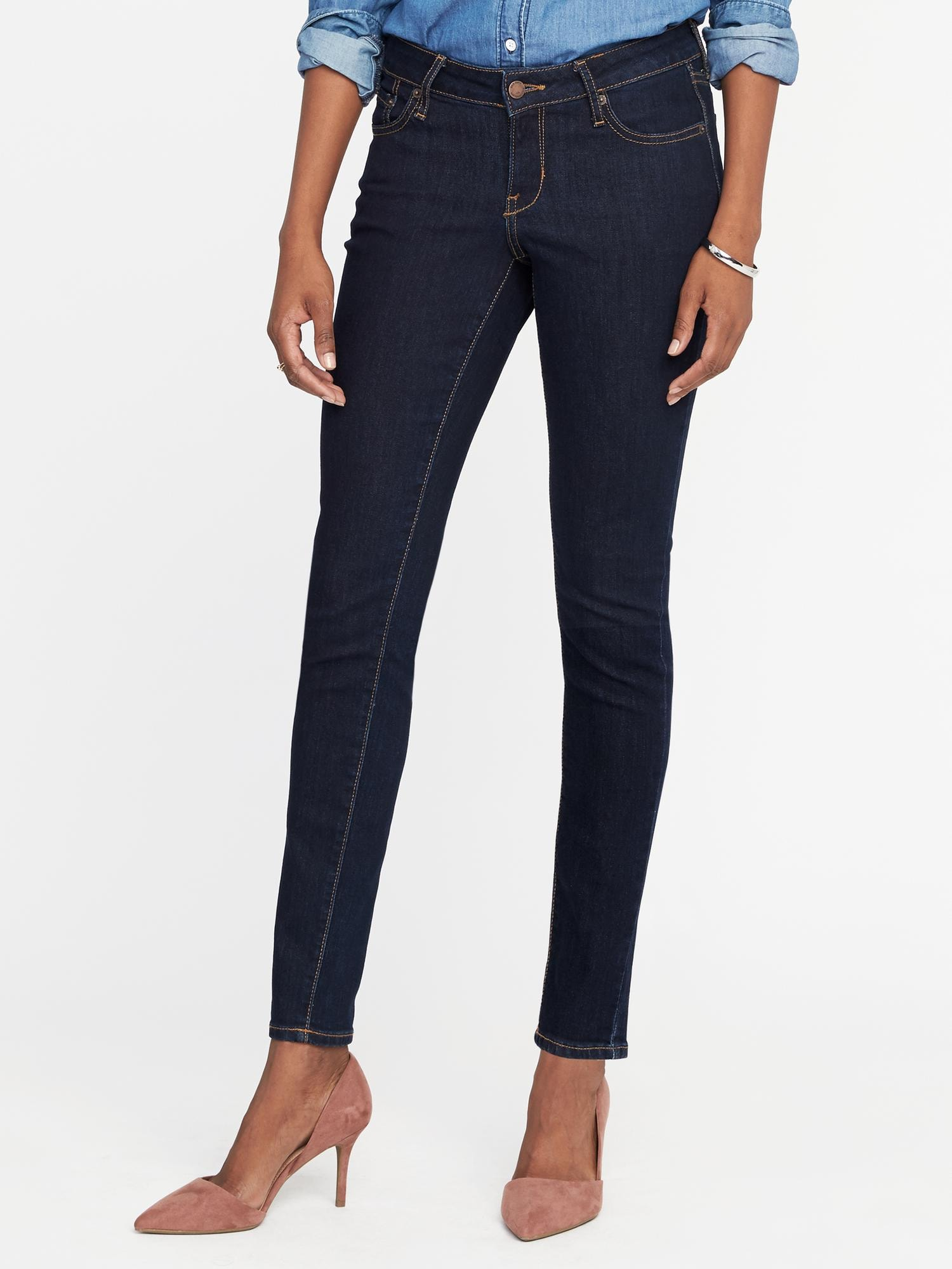 ab5bb185c34 Low-Rise Rockstar Super Skinny Jeans for Women | Old Navy