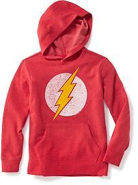 Haut à capuchon Flash de DC ComicsMC pour garçon