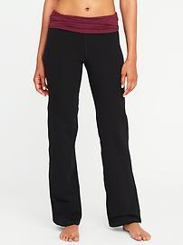 Pantalon de yoga à jambe large pour femme