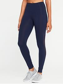 Legging Go-Dry de compression à taille haute et poches latérales pour femme