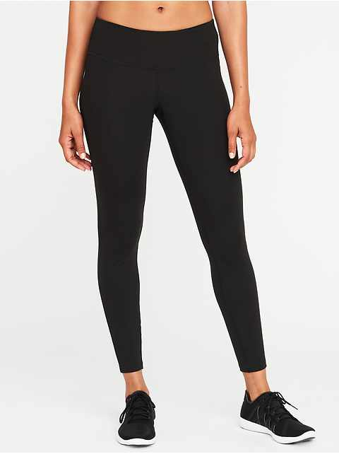 Mid-Rise Elevate Compression 7/8-Length Leggings for Women
