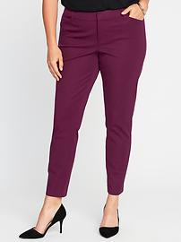 Mid-Rise Smooth & Slim Plus-Size Pixie Pants