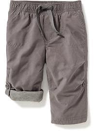 Pantalon hybride à enfiler doublé de jersey pour bébé