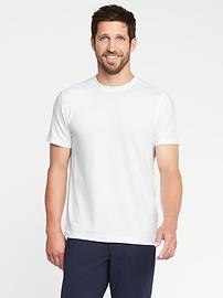 Go-Dry Performance Stretch Tee for Men