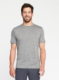 Built-In Flex Go-Dry Performance Tee for Men