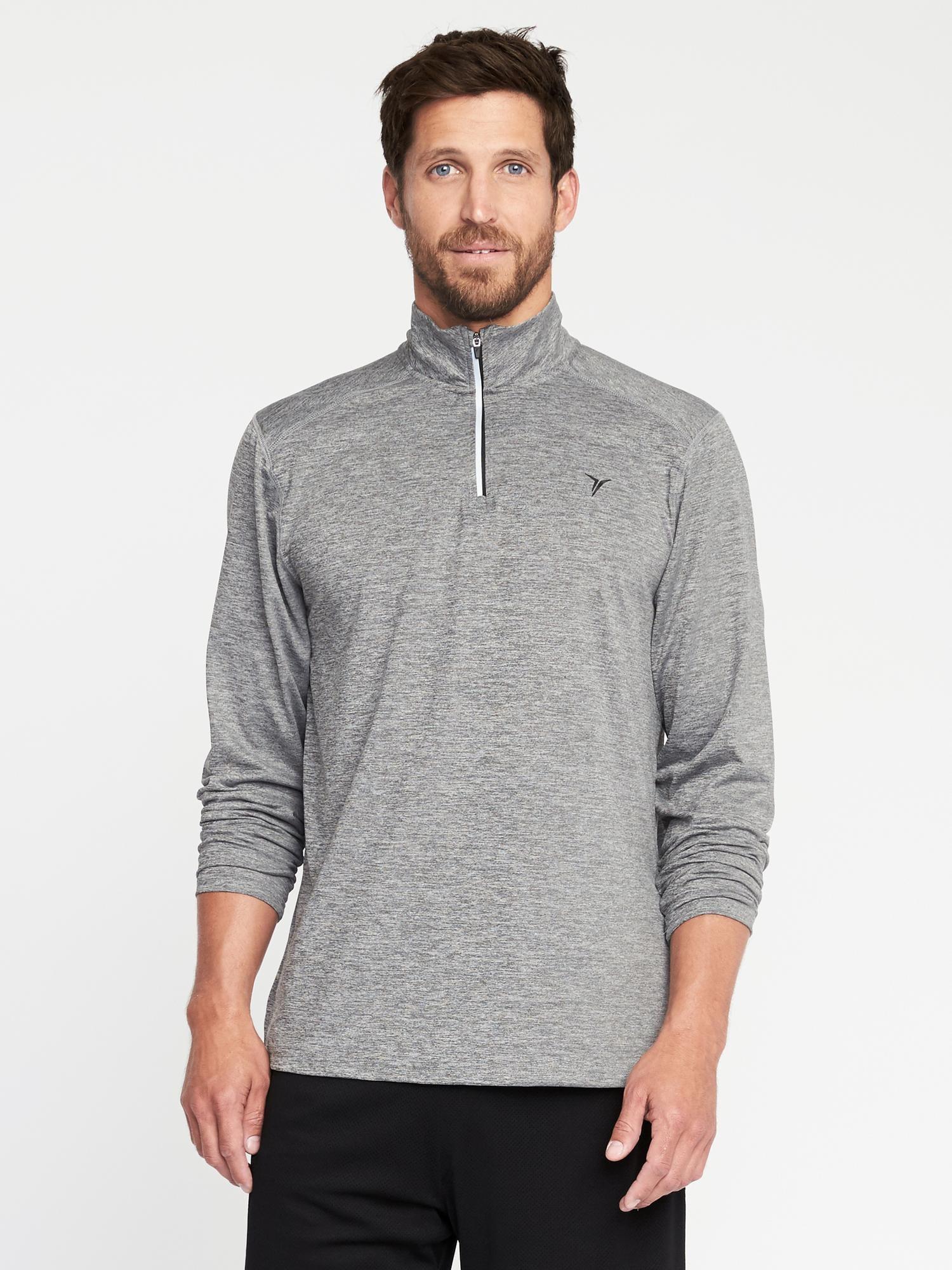 Go Dry 14 Zip Built In Flex Pullover For Men Old Navy
