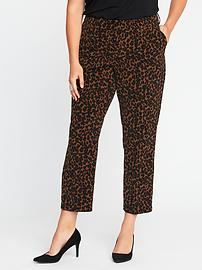 Smooth & Slim Mid-Rise Plus-Size Harper Pants
