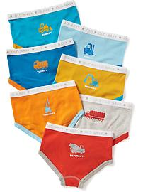 Day-of-the-Week Brief 7-Pack for Toddler Boys