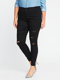 Smooth & Slim High-Rise Plus-Size Rockstar Jeans