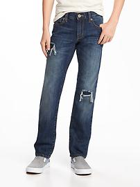Slim Distressed Jeans for Boys