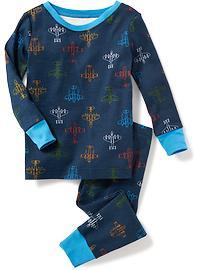 Pyjama avions à réaction pour tout-petit garçon