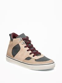 Sueded Hiker High-Tops for Boys