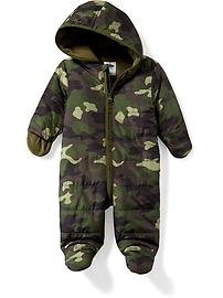Hooded Snowsuit for Baby