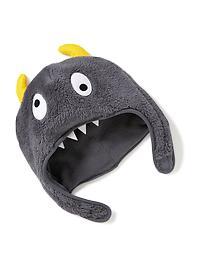 Faux-Fur Monster Trapper Hat for Toddler Boys
