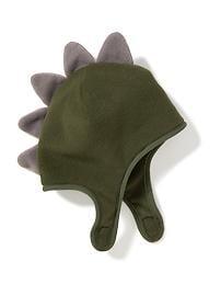 Dinosaur Performance Fleece Trapper Hat for Toddler Boys