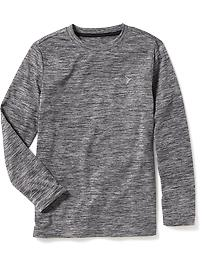 Relaxed Go-Dry Crew-Neck Tee for Boys