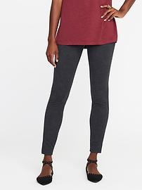 Heavy-Knit Jersey Leggings for Women