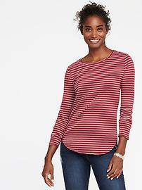 T-shirt col rond tout-aller pour femme