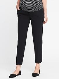 Maternity Premium Full-Panel Double-Weave Harper Pants