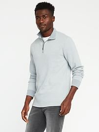 Double-Knit 1/4-Zip Pullover for Men