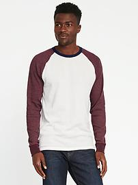 Soft-Washed Built-In Flex Thermal Tee