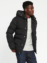 Veste à capuchon amovible Frost Free pour homme