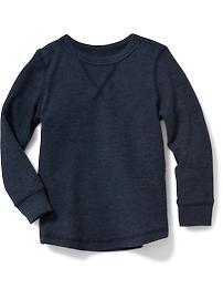 T-shirt isotherme à encolure ras du cou pour tout-petit garçon