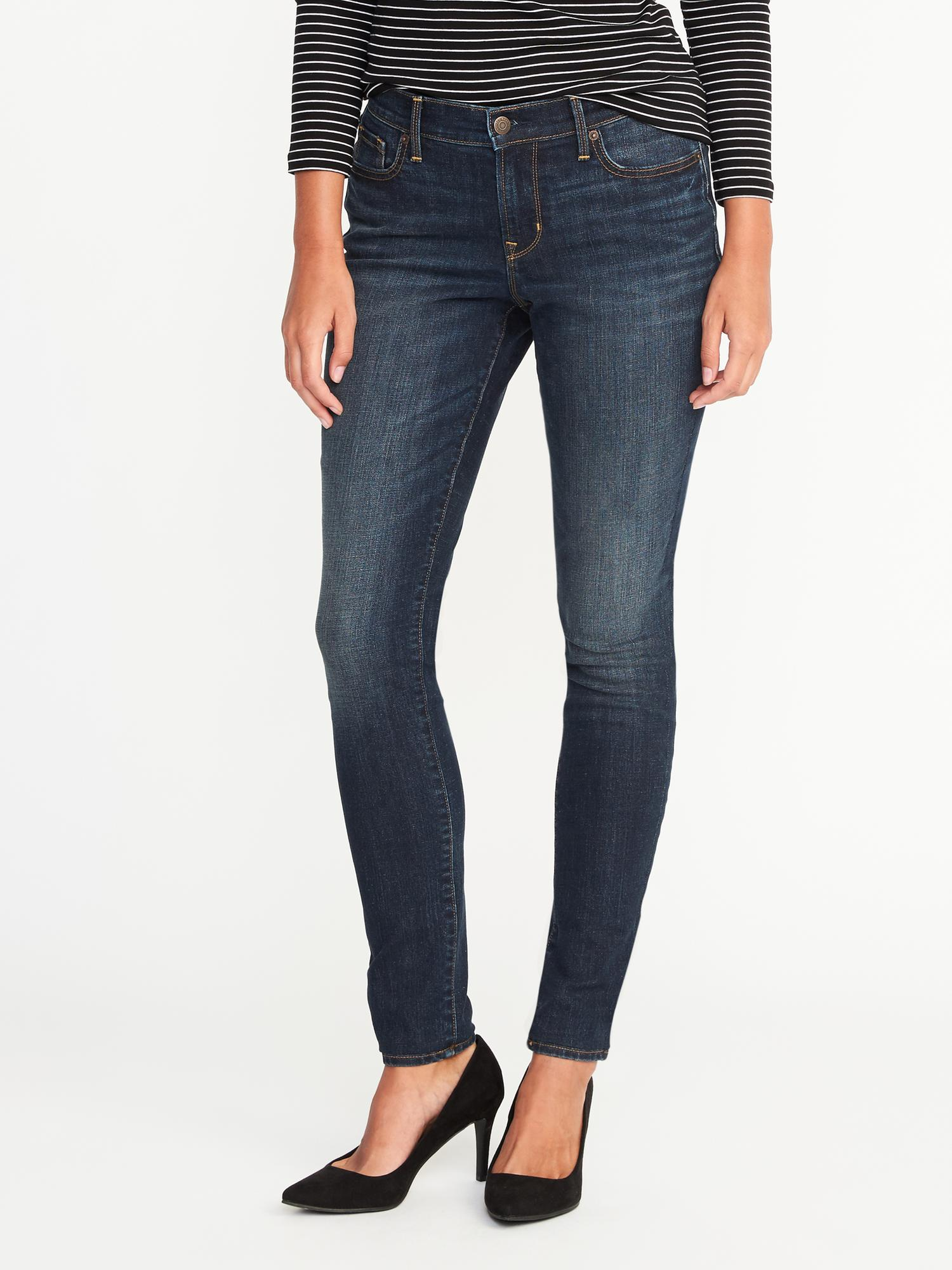 4f34d3f589 Mid-Rise Curvy Skinny Jeans for Women | Old Navy