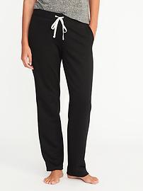 Fleece Straight-Leg Sweatpants for Women