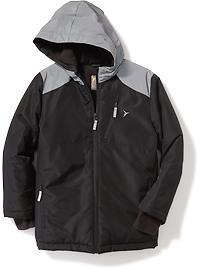 Veste blizzard Go-Warm à bordure réfléchissante pour garçon