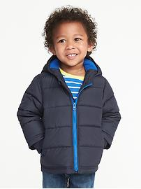 Frost-Free Hooded Jacket for Toddler Boys