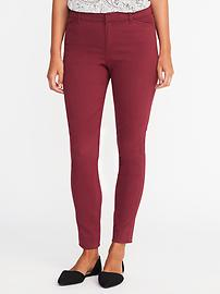 Mid-Rise Pixie Sateen Chinos for Women