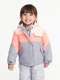 3-in-1 Snow Jacket for Toddler Girls
